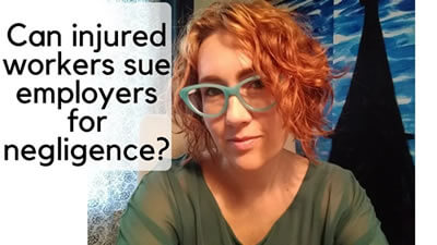 Can you sue your employer for negligence as an injured worker?